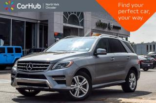 Used 2015 Mercedes-Benz ML-Class ML 350 BlueTEC 4Matic|Nav|Sat|Bluetooth|H/K Audio for sale in Thornhill, ON
