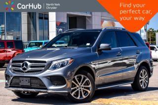 Used 2017 Mercedes-Benz GLE 400 4Matic|Prem.Pkg|H/K Audio|Pano_Sunroof|19
