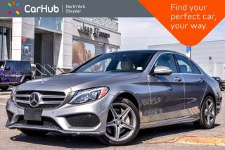 Used 2015 Mercedes-Benz C-Class C 400 4Matic|Premium,Drvr.Asst.Pkgs|Sunroof|Nav|Burmester|18