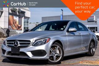 Used 2015 Mercedes-Benz C-Class C 400 4Matic|Pano_Sunroof|Burmester Audio|BlindSpot for sale in Thornhill, ON