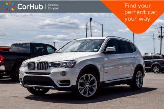 Used 2017 BMW X3 xDrive28i|AWD|Navi|Pano Sunroof|Backup Cam|Bluetooth|Heated Front Seats|19