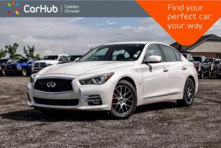 Used 2015 Infiniti Q50 AWD|Backup Cam|Bluetooth|Leather|Heated Front Seats|Push Start|17