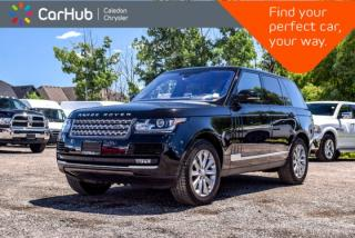 Used 2016 Land Rover Range Rover Td6 HSE|4x4|Diesel|Navi|Pano Sunroof|Backup Cam|Bluetooth|Leather|20