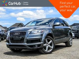 Used 2015 Audi Q7 3.0T Vorsprung Edition|Quattro|Navi|Backup Cam|Bluetooth|Heated Seats|Leather|20