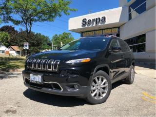 Used 2017 Jeep Cherokee Limited for sale in Toronto, ON