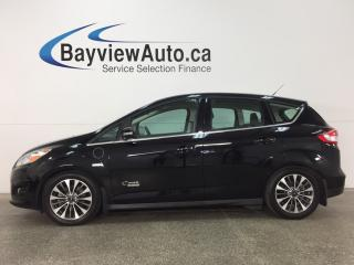 Used 2017 Ford C-MAX Titanium - REM START! PANOROOF! HTD LTHR! NAV! APA! BLIS! SYNC! CRUISE! for sale in Belleville, ON