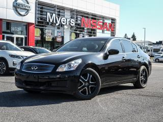 Used 2009 Infiniti G37 LEATHER REVERSE CAMERA for sale in Orleans, ON