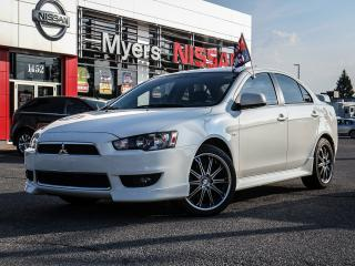 Used 2010 Mitsubishi Lancer GTS MANUAL, LEATHER, SUNROOF for sale in Orleans, ON