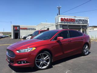 Used 2014 Ford Fusion TITANIUM AWD - NAVI - SUNROOF - REVERSE CAM for sale in Oakville, ON