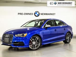 Used 2015 Audi S3 2.0T Technik quattro 6sp S tronic for sale in Newmarket, ON