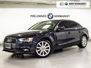 Used 2013 Audi A4 2.0T Prem Plus Tiptronic qtro Sdn for sale in Newmarket, ON