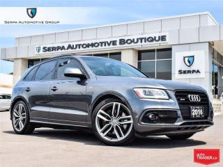 Used 2016 Audi SQ5 3.0T Technik for sale in Aurora, ON