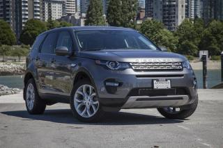Used 2016 Land Rover Discovery Sport HSE (2016.5) Low KM! for sale in Vancouver, BC