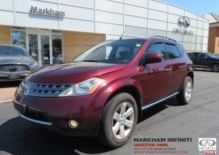 Used 2007 Nissan Murano ASIS SL AWD for sale in Unionville, ON