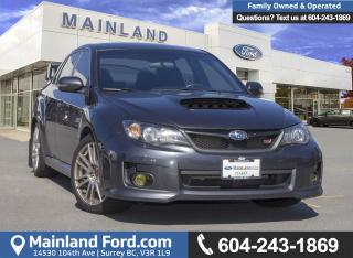 Used 2011 Subaru Impreza WRX STi Sport-tech *ACCIDENT FREE* for sale in Surrey, BC