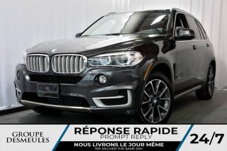 Used 2016 BMW X5 xDrive35i + TECH PACK + CUIR BRUN + HEAD for sale in Laval, QC