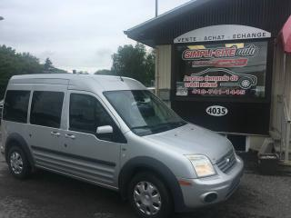 Used 2011 Ford Transit Connect Familiale 4 portes XLT Premium for sale in Levis, QC