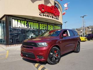 Used 2018 Dodge Durango SRT 2 DVD NAVI SUNROOF for sale in Scarborough, ON