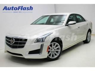 Used 2014 Cadillac CTS 2.0l Turbo Awd for sale in Saint-hubert, QC