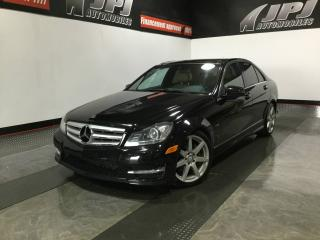 Used 2012 Mercedes-Benz C-Class C350-V6-TOIT-CUIR-AWD for sale in Carignan, QC