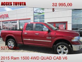 Used 2015 RAM 1500 for sale in Rouyn-Noranda, QC