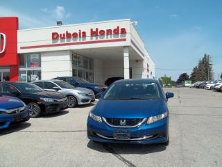 Used 2015 Honda Civic EX for sale in Woodstock, ON