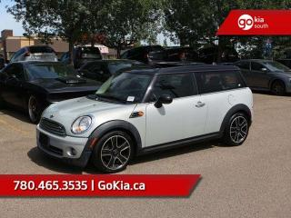 Used 2013 MINI Cooper Clubman HEATED SEATS, DUEL SUNROOF, LEATHER for sale in Edmonton, AB