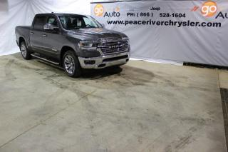 Used 2019 RAM 1500 Laramie 4x4 Crew Cab 144.5 in. WB for sale in Peace River, AB