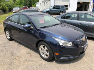 Used 2011 Chevrolet Cruze LT Turbo+ w/1SB for sale in Beeton, ON