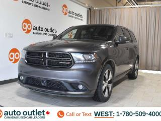 Used 2015 Dodge Durango R/T, 5.7L V8, Awd, Leather seats, Heated/Cooled seats, Heated steering wheel, Navigation, Rear heated seats, Backup camera for sale in Edmonton, AB