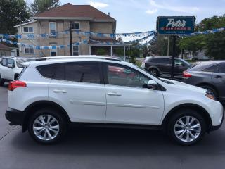 Used 2013 Toyota RAV4 LIMITED AWD for sale in Dunnville, ON