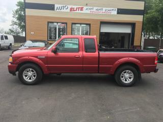 Used 2008 Ford Ranger Cabine super 4 RM 126 po XL for sale in Saint-sulpice, QC