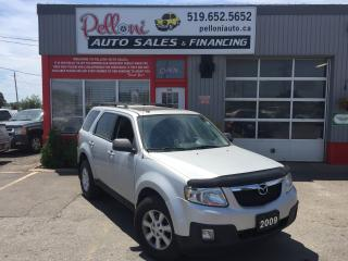 Used 2009 Mazda Tribute GT V6 4X4 LEATHER + SUNROOF for sale in London, ON