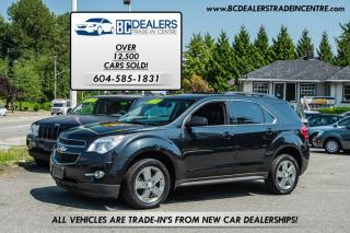 Used 2013 Chevrolet Equinox LT, New Bodystyle, Affordable, Warranty Available! for sale in Surrey, BC