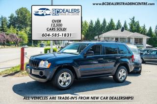 Used 2005 Jeep Grand Cherokee Laredo V6, Local, New Bodystyle, No Accidents! for sale in Surrey, BC