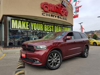 Used 2017 Dodge Durango GT 2 DVD NAVI R-CAM SUNROOF 7 PASS for sale in Scarborough, ON