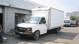 Used 2010 Chevrolet Express 3500 14 ft cub low k/m for sale in North York, ON