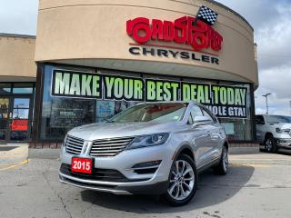 Used 2015 Lincoln MKC BASE 2.0 AWD FOG LIGHTS NAV REAR CAM TAN INTERIOR for sale in Toronto, ON