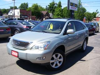Used 2009 Lexus RX 350 SPORT,AWD,LEATER,TINTED,ROOF RACK,ALLOYS for sale in Kitchener, ON
