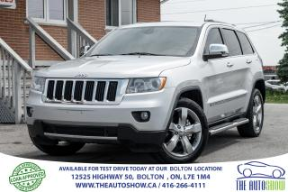 Used 2011 Jeep Grand Cherokee LTD 3.6 NaviGPS RearCam Service Records Certified for sale in Bolton, ON
