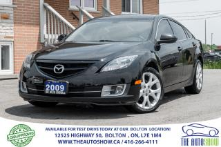 Used 2009 Mazda MAZDA6 GT 6SPD 2.5L LEATHER SUNROOF CERTIFIED NICE for sale in Caledon, ON