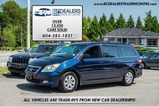 Used 2007 Honda Odyssey EX V6, Reverse Sensors, 7-Passenger, Power Doors! for sale in Surrey, BC