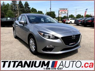 Used 2014 Mazda MAZDA3 GS+GPS+Camera+Heated Seats+Bluetooth+New Brakes+++ for sale in London, ON