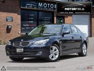 Used 2010 BMW 5 Series 528i xDrive *ONE OWNER| NO ACCIDENTS| NAV| 71KM* for sale in Scarborough, ON