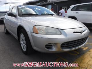Used 2002 Chrysler Sebring 4D Sedan for sale in Calgary, AB