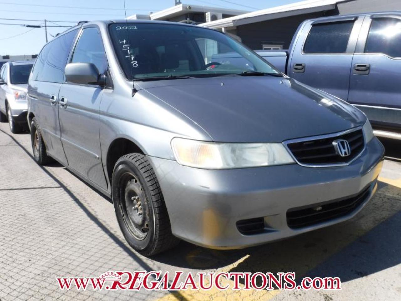 Photo of Grey 2002 Honda ODYSSEY  4D SPORTS WAGON