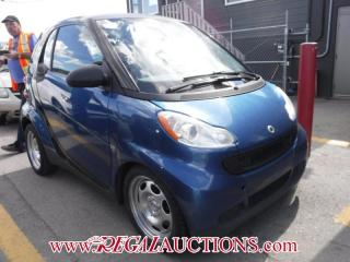 Used 2009 Smart FORTWO  2D COUPE for sale in Calgary, AB