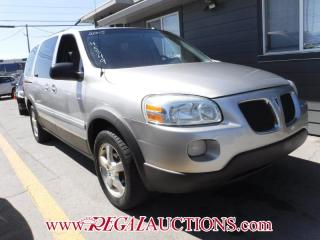 Used 2005 Pontiac Montana Sv6 4D Ext Wagon for sale in Calgary, AB