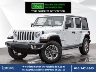 New 2018 Jeep Wrangler Unlimited Sahara for sale in Brampton, ON