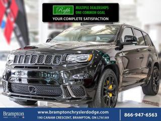 New 2018 Jeep Grand Cherokee Trackhawk for sale in Brampton, ON